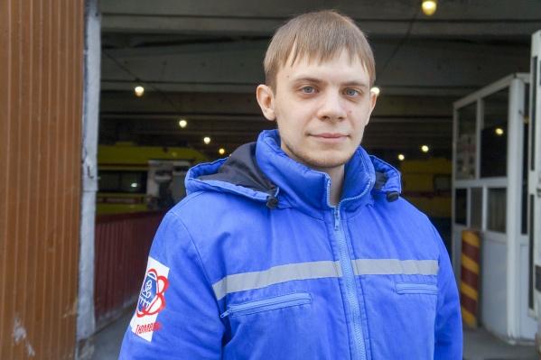 Алексей Юшков на скорой работает недавно, но уже стал рекордсменом нашей области по количеству спасенных жизней