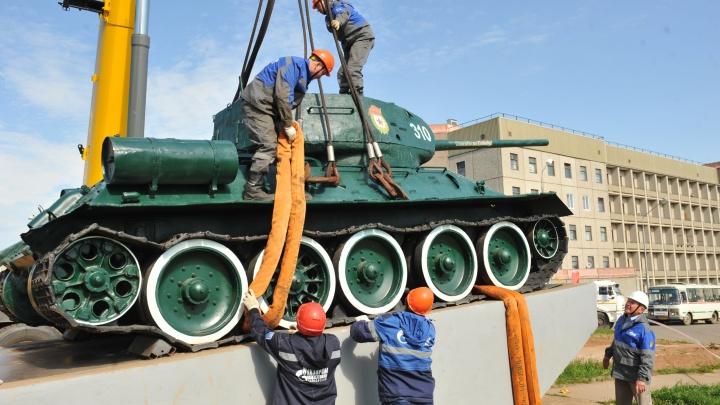 Газовики Прикамья поддержали проект восстановления танка Т-34