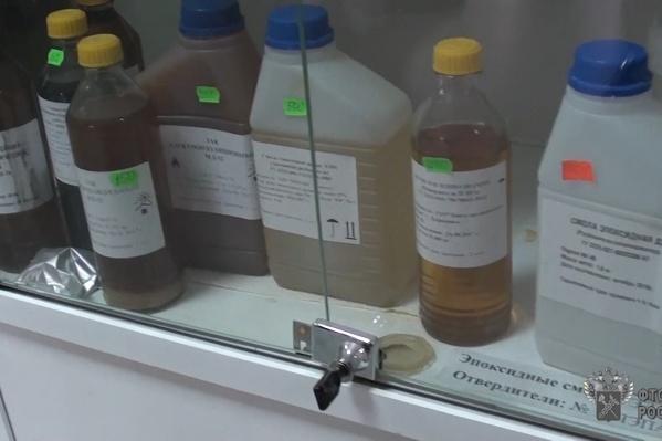 Запрещённые вещества нашли после обыска в офисе коммерсанта