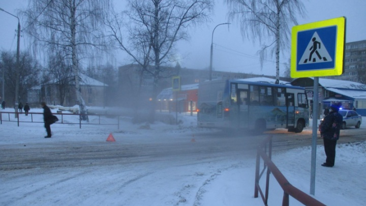 Не пропустил: в Рыбинске маршрутка сбила 82-летнюю бабушку