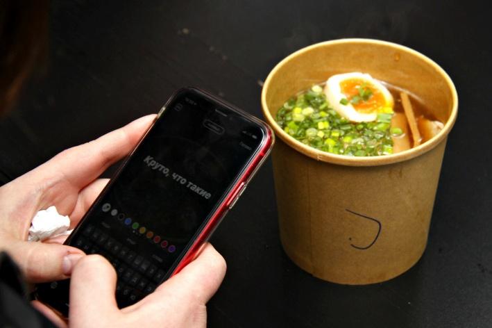 Фестиваль позволяет не только поесть, но и пополнить кадрами свой Instagram