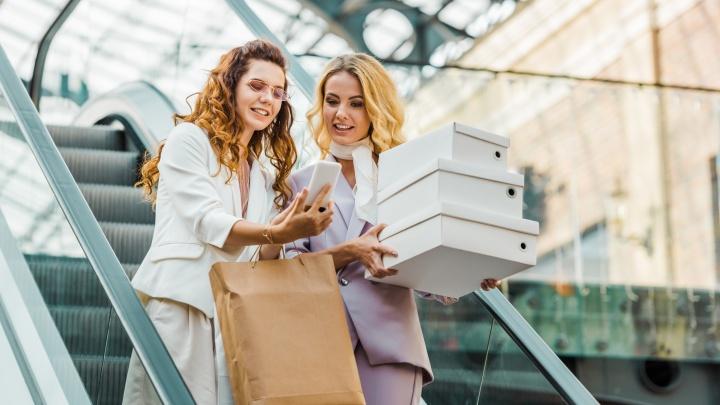 В этом году екатеринбуржцы отправили на 14 миллионов больше фото из торговых центров, чем в прошлом