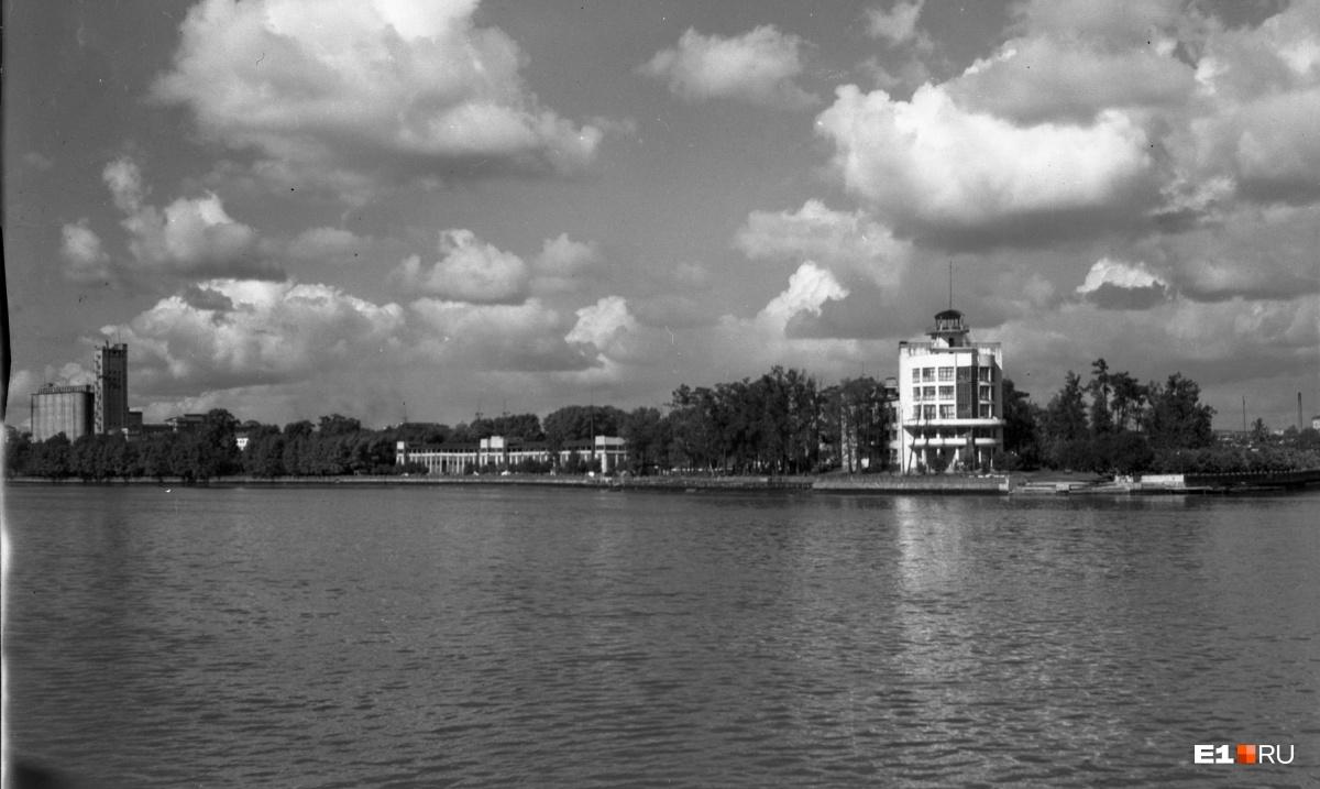 Водная станция «Динамо». 1948 год