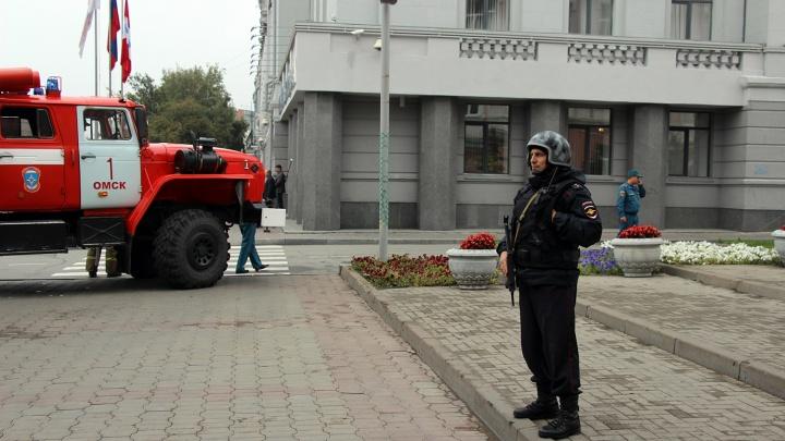 В Омске проверили все здания после сообщений о минировании