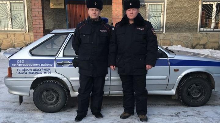 Под Артёмовским мужчина с ножом напал на сотрудника ДПС, когда тот остановил нарушителя