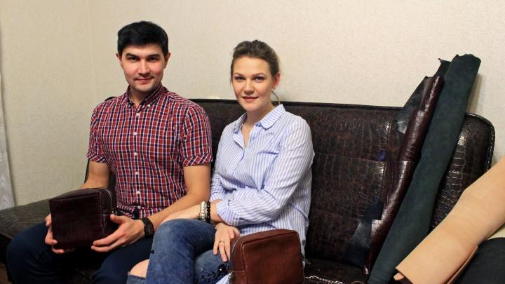 Шкурный интерес: семейная пара из Уфы создаёт дизайнерские сумки