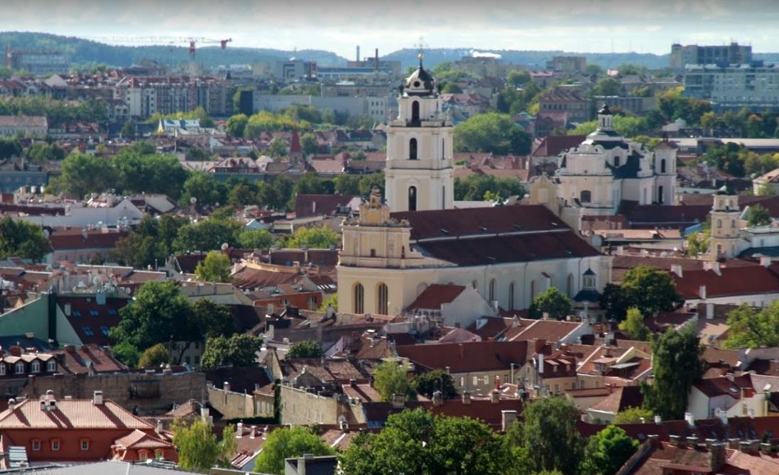 Вильнюс — красивый город