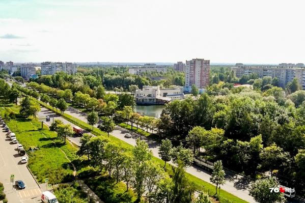 В Дзержинском районе довольно шумно