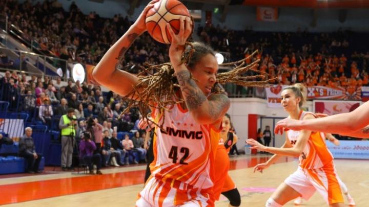 Баскетболистки УГМК выиграли матч Евролиги и досрочно обеспечили себе первое место в группе