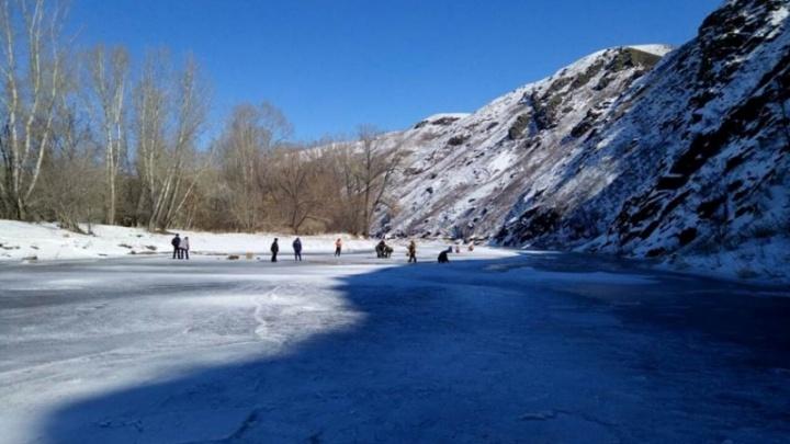 360 килограмм взрывчатого вещества: в Башкирии подорвали лед на реке Сакмара
