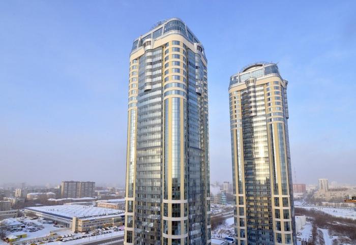 Жилые небоскрёбы —редкость для Екатеринбурга