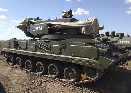 Волгоградские военные получили на вооружение зенитный комплекс «Тунгуска-М1»