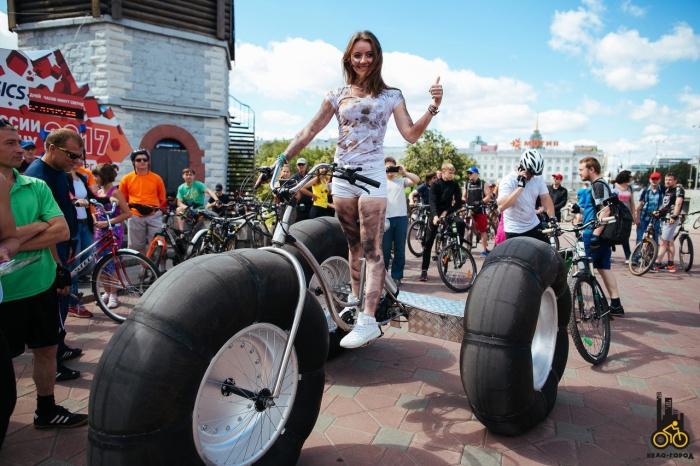 Ради велопробега перекроют проспект Ленина. Кстати, в этом году будет много необычных велосипедов