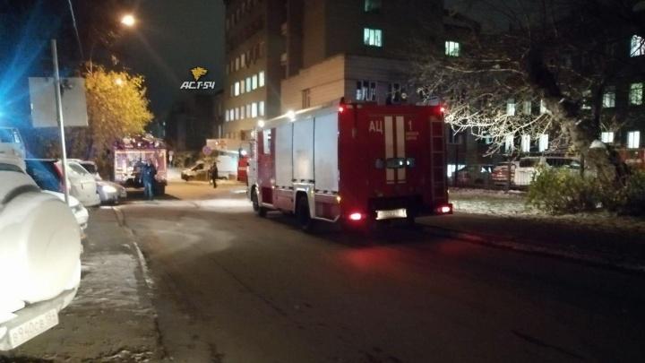 Пациентов Городской клинической больницы скорой помощи №2 эвакуировали из-за задымления (видео)