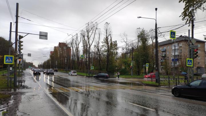 В Перми на пешеходном переходе иномарка сбила двух школьниц