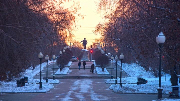 В первой половине декабря температура воздуха на Урале на 4 градуса превысила норму