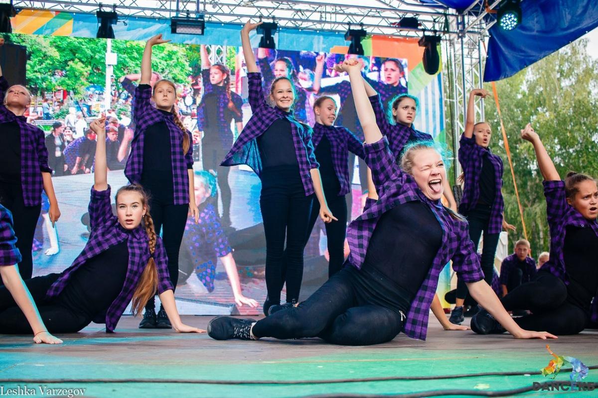 Танцующие люди заполонят город 18 августа