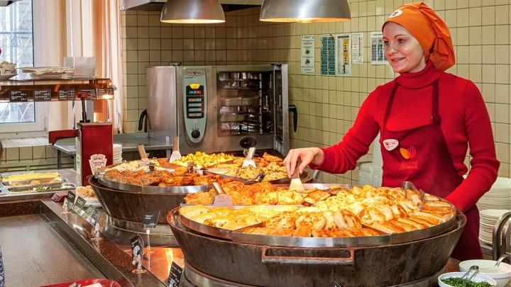 Сегодня на улице Титова, 26 открылся новый ресторан федеральной сети «Вилка-Ложка»