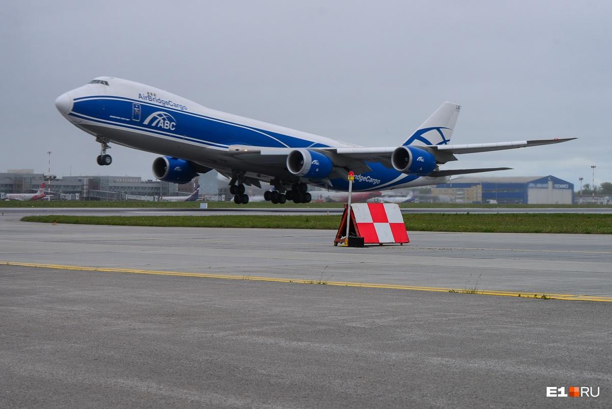 Долгожданный взлёт Boeing 747–8F