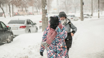 «Не выходите из зданий»: к понедельнику в Самарской области ухудшится погода