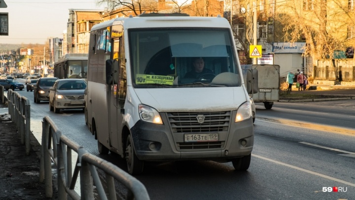 В Перми заново запустили маршрутку 10т до деревни Голованово