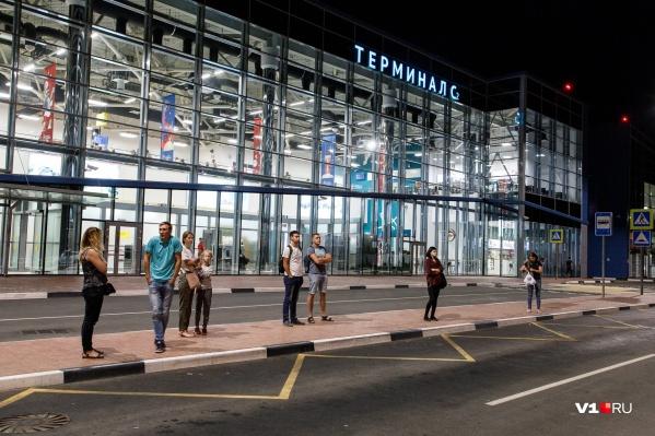 Задерживается ночной рейс в Волгоград