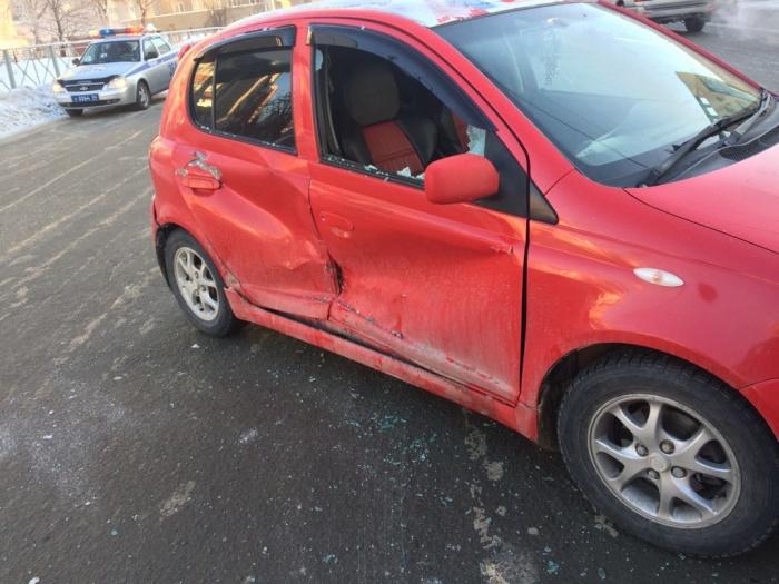 По данным «Автоспаса», Toyota Vitz двигалась со стороны улицы Каменская