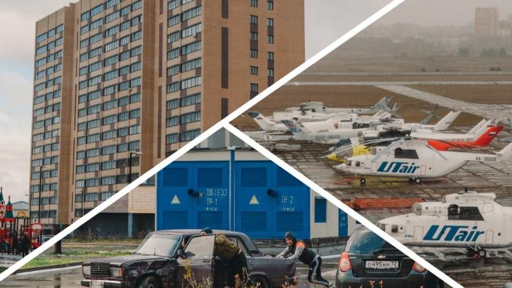 Девять домов на отшибе и пузатые вертолеты под окнами: гуляем по ЖК «Москва»
