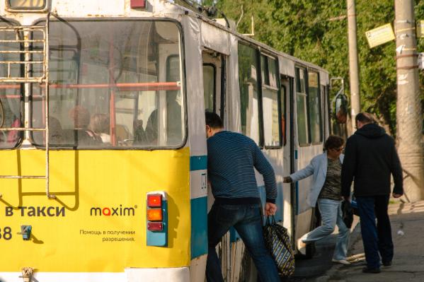 Самарцам придется забыть о троллейбусе на Водников до 17 мая