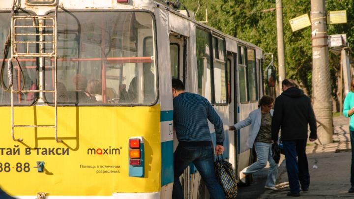 В Самаре ограничили движение троллейбуса № 16