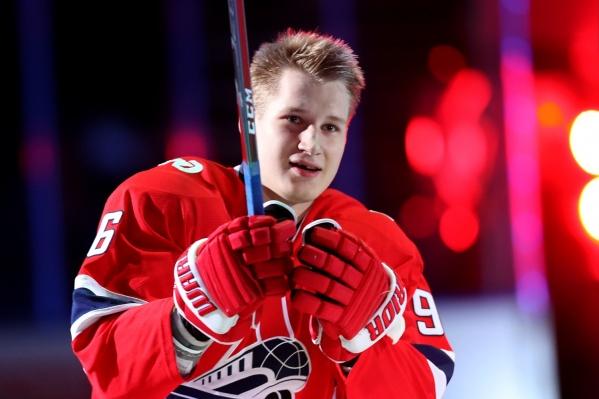 Егор Коршков сыграл в КХЛ 172 матча, и все — с составе ярославского «Локомотива»