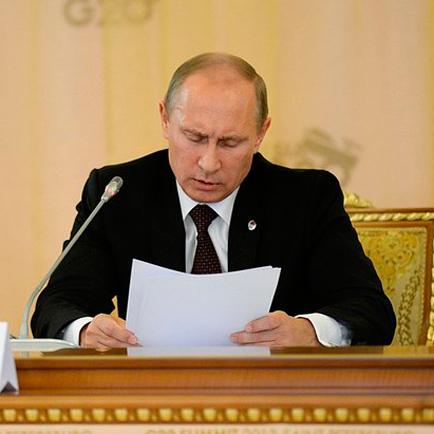 Путин уволил главу и зама МВД по Кемеровской области