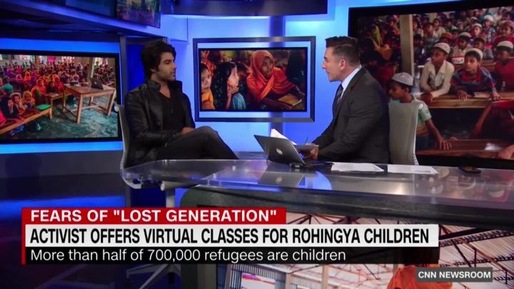 О сибирячке и ее учениках, которые помогают беженцам в Бангладеш, сняли сюжет на CNN
