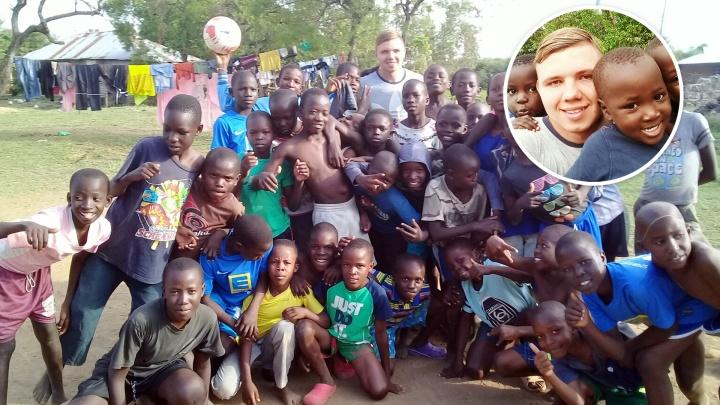 «Никогда не вернусь к прошлой жизни»: челябинец, справившийся с лейкозом, уехал волонтёром в Африку