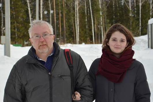 Константин Киселёв со своей дочкой Екатериной