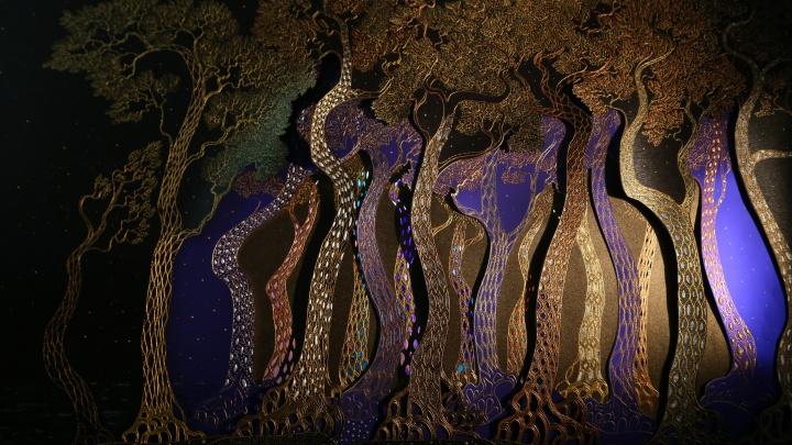 Новосибирец решил построить в Берлине золотой лес со стеклянной корой