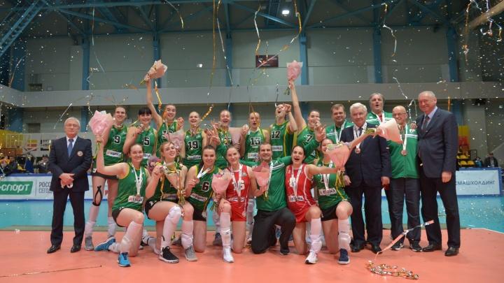 Волейболистки «Уралочки» завоевали бронзовые медали чемпионата России