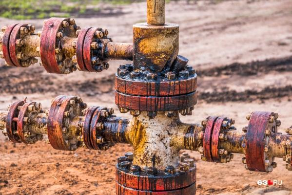 Похитители добавили в нефть хлорсодержащие соединения