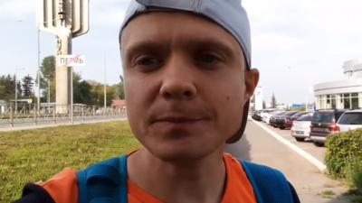 «Болели ноги, а кроссовки просто закончились»: пермяк добежал до Ижевска за пять дней