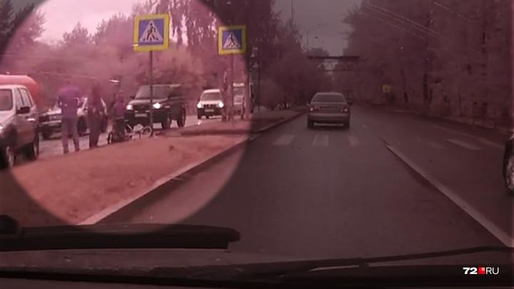 На Лесобазе водитель легковушки сбил 7-летнего мальчика на велосипеде