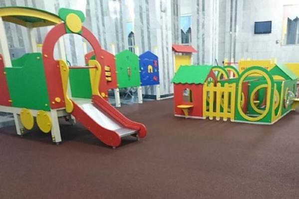 Детскую площадку устанавливают в месте, защищенном от сквозняков