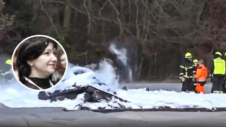 Гибель Наталии Филёвой: названа предварительная причина авиакатастрофы