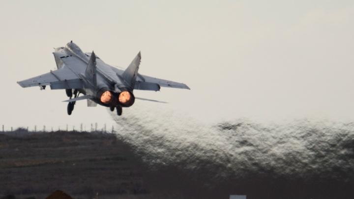 Истребитель-перехватчик МиГ-31 разбился в Бурятии