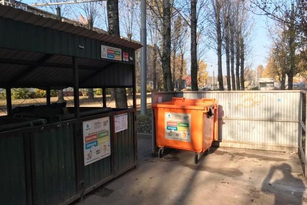 Пока в Ярославле площадки с раздельным сбором мусора есть только в Брагино
