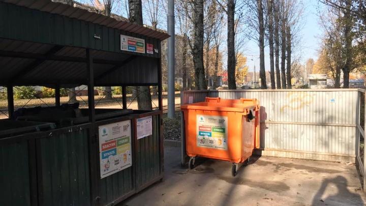 В Ярославле поставили новые контейнеры по раздельному сбору мусора: куда возить свои бутылки и банки