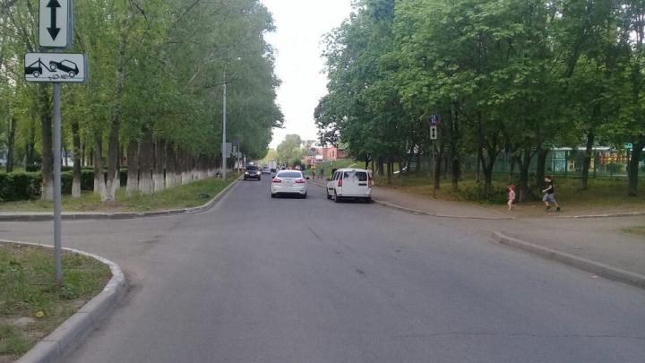 В Тольятти семилетний велосипедист попал под колёса авто