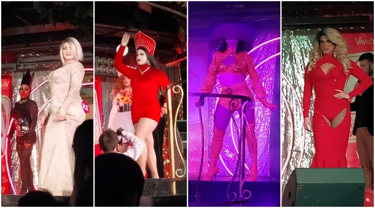 Под полнейшим винегретом, скорее всего, ведущая имела в виду костюмы конкурсанток