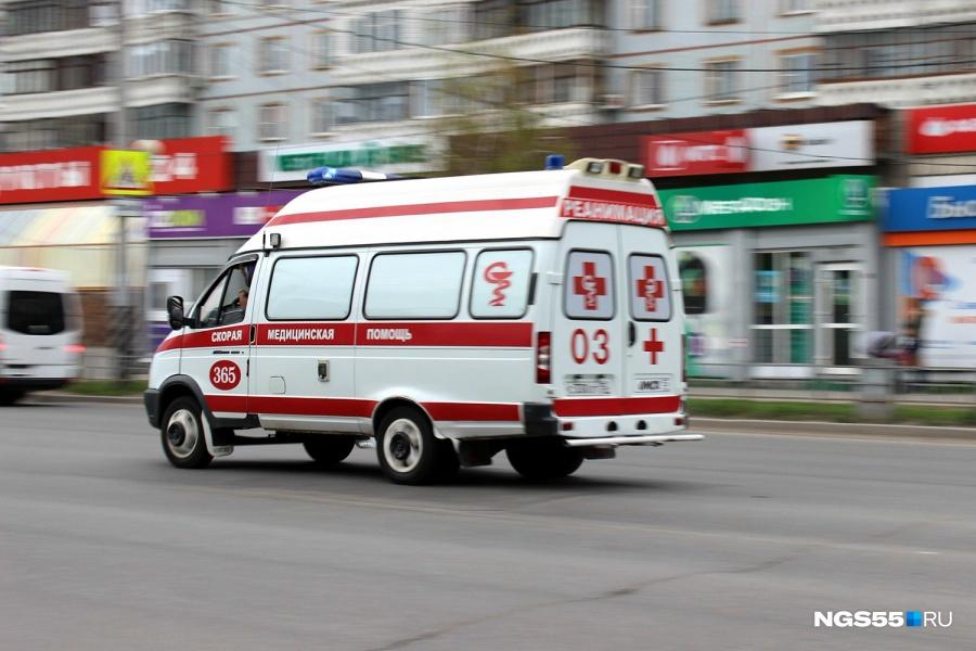 Обрушение строительных лесов вОмске: пострадали пятеро рабочих