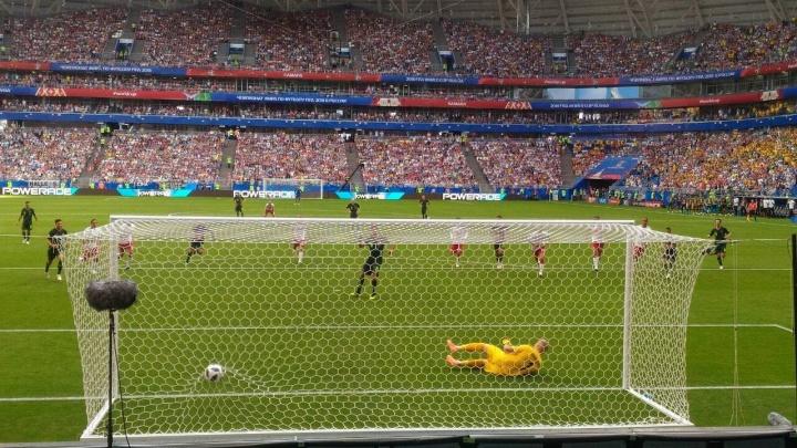 Победила дружба: матч Дания — Австралия закончился со счетом 1:1