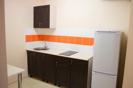 Так выглядит кухня, рассчитанная на две комнаты